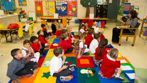 St. Norbert Catholic School Children's Center, Orange